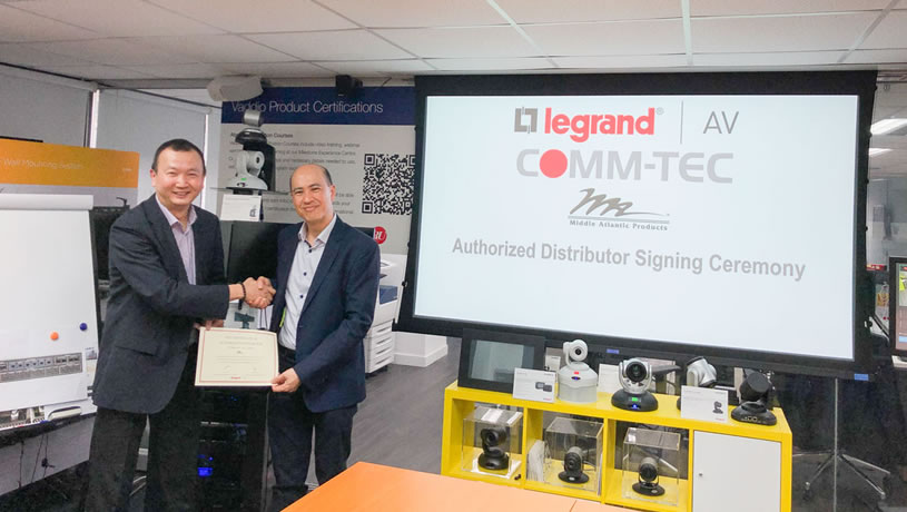 COMM-TEC Asia Limited Named Distributor of Middle Atlantic in Hong Kong and Macau