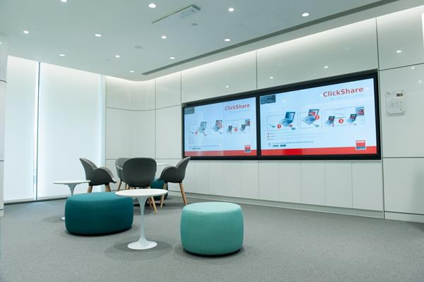 ClickShare deployment in GE China technology park perfectly interprets a smart choice for high-end office(图1)
