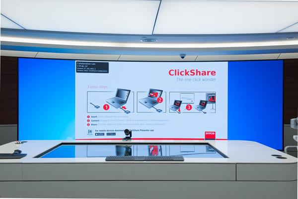 ClickShare deployment in GE China technology park perfectly interprets a smart choice for high-end office(图4)