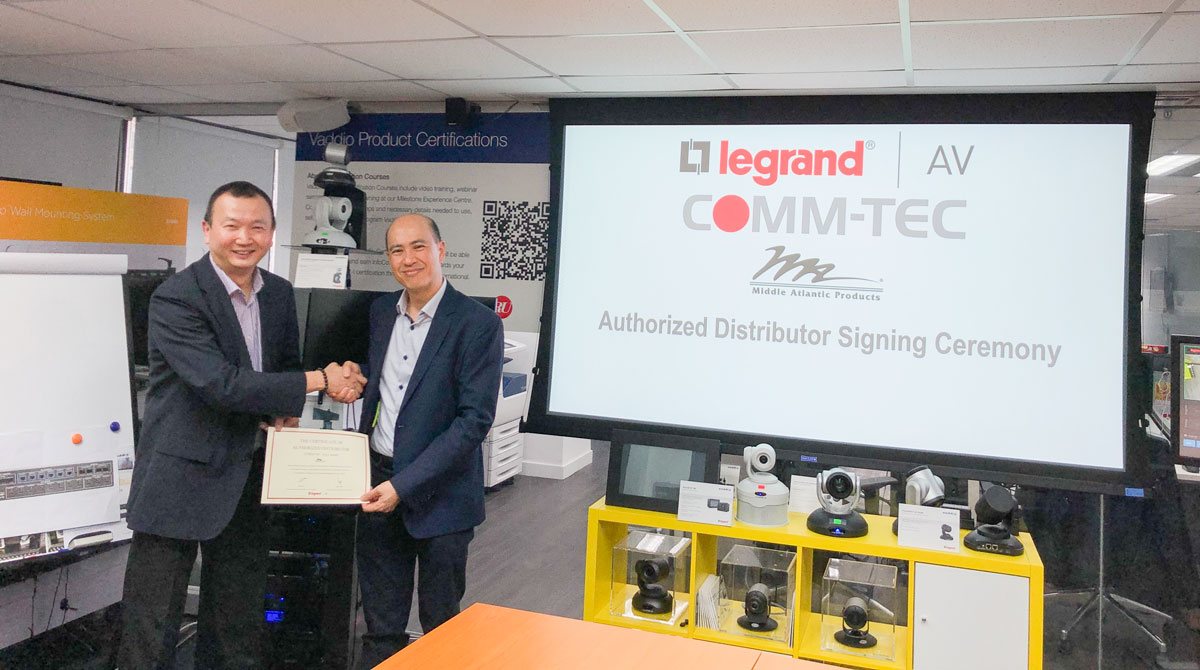 COMM-TEC Asia Limited Named Distributor of Middle Atlantic in Hong Kong and Macau(图1)
